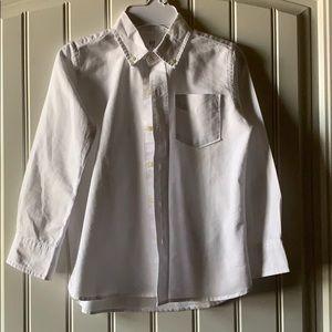 NWT Boys GAP button down oxford shirt